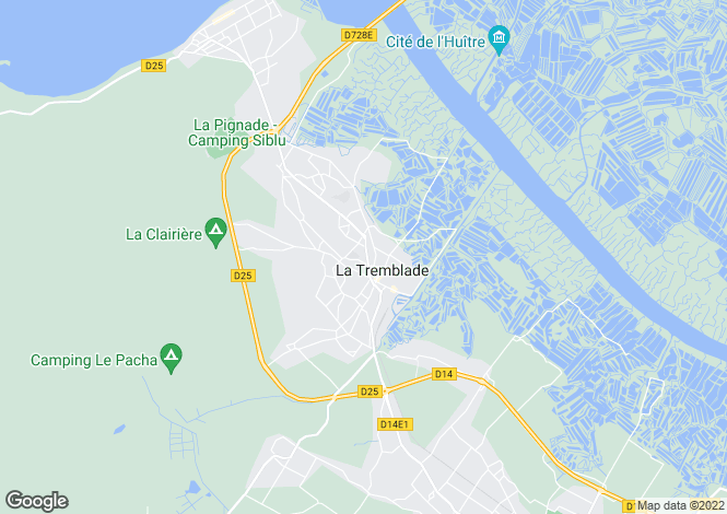 Map for la-tremblade, Charente-Maritime, France
