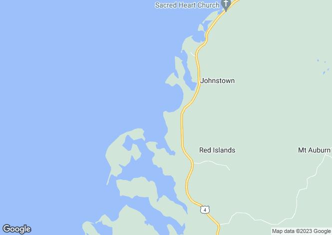 Map for Nova Scotia, St Peter`s