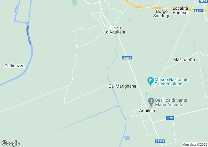 Map for Grado, Gorizia, Friuli-Venezia Giulia