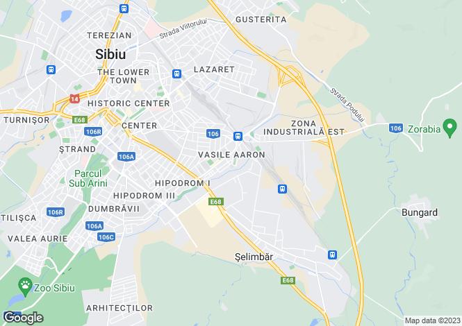 Map for Sibiu, Sibiu