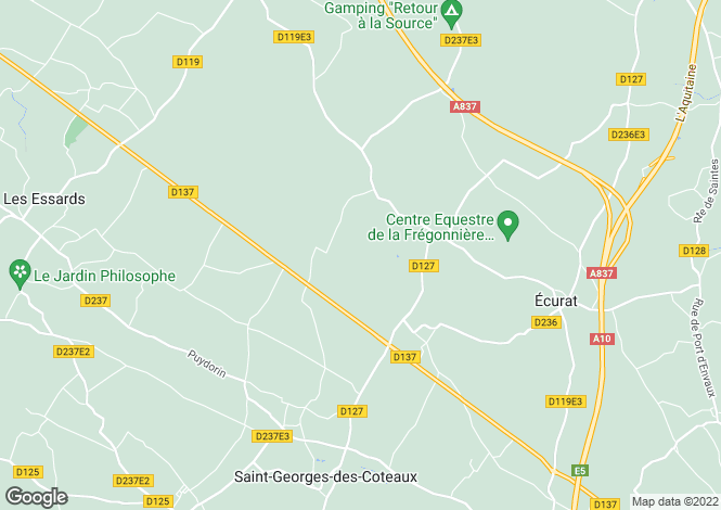 Map for salles-sur-mer, Charente-Maritime, France