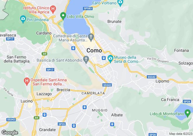Map for Como, Como, Italy