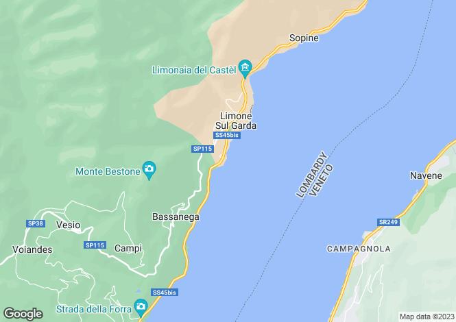 Map for Limone sul Garda, Brescia, Lombardy