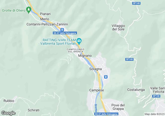 Map for Veneto, Vicenza, Campolongo Sul Brenta