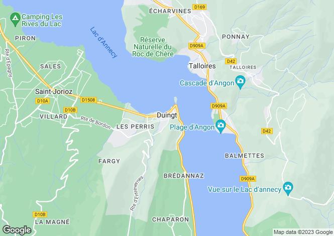 Map for DUINGT ,France