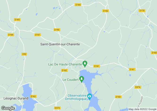 Map for st-quentin-sur-charente, Charente, France
