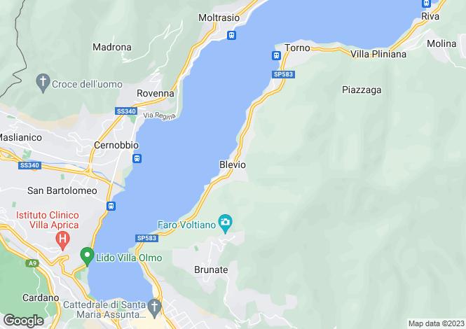 Map for Provincia Di Como, Lombardy, Italy