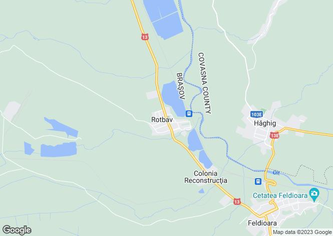 Map for Brasov