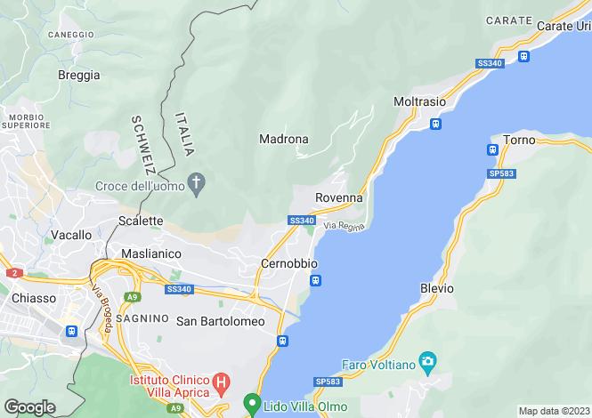 Map for Cernobbio, 22012, Italy