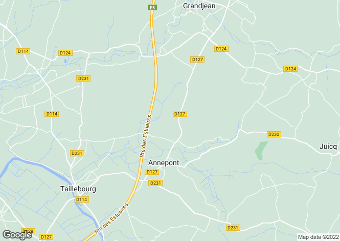 Map for annepont, Charente-Maritime, France