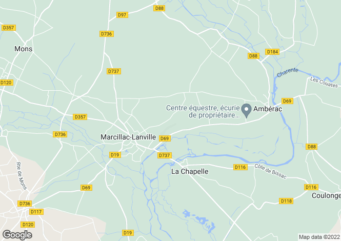 Map for la-chapelle, Charente, France