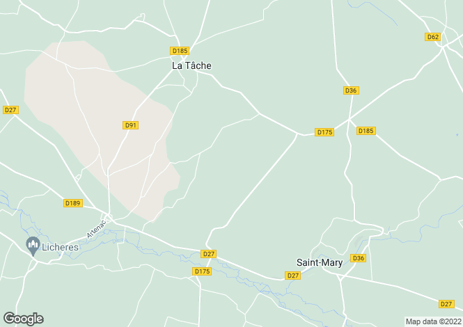 Map for st-mary, Charente, France