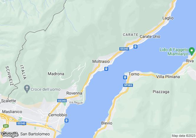 Map for Moltrasio, Como, Lombardy
