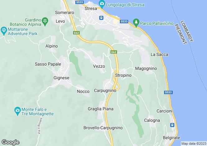 Map for Gignese, Verbano-Cusio-Ossola, Italy