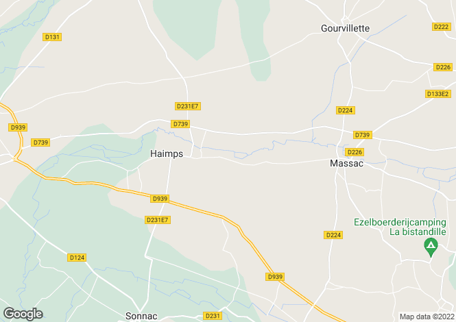 Map for Poitou-Charentes, Charente-Maritime, Haimps