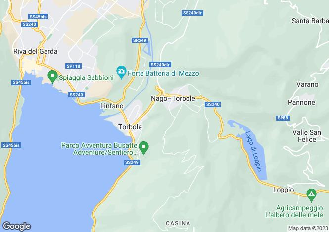 Map for Trento, Trento, Trentino-South Tyrol
