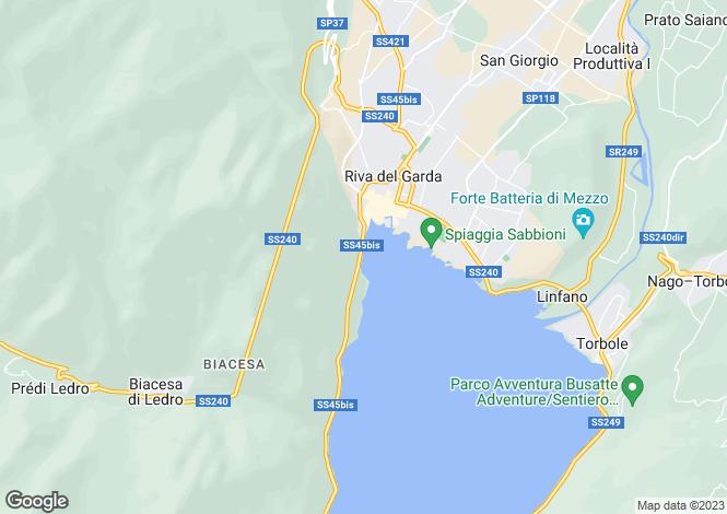 Map for Riva del Garda, Trento, Trentino-South Tyrol