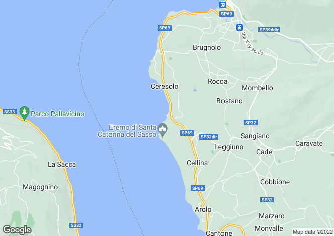 Map for Laveno, Varese, Lombardy