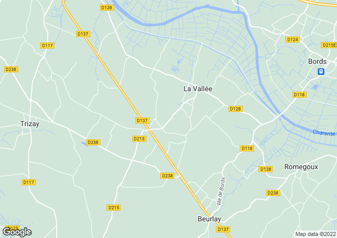 Map for la-vallee, Charente-Maritime, France