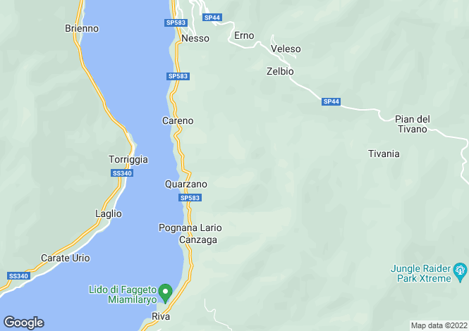 Map for The Nest, Torno, Lake Como, Italy