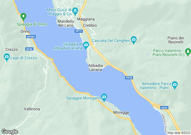 Map for Lecco, Lombardy, Italy