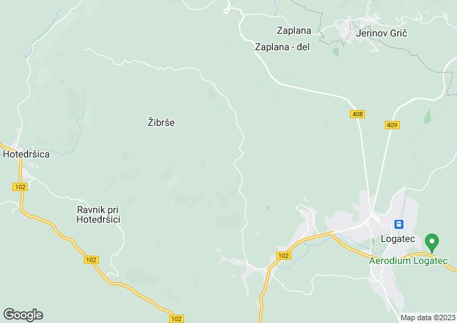 Map for Logatec, Logatec