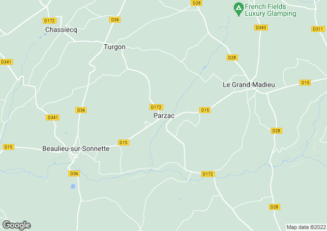 Map for Secteur: Champagne-Mouton, Charente