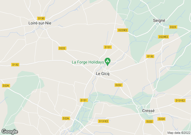 Map for le-gicq, Charente-Maritime, France