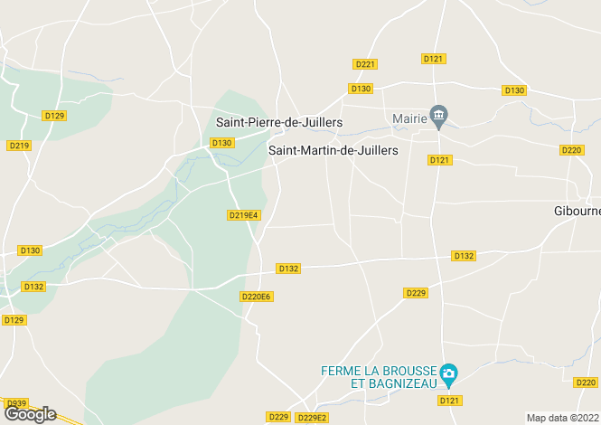 Map for st-pierre-de-juillers, Charente-Maritime, France