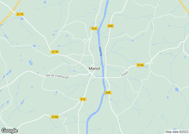 Map for Secteur: Confolens, Charente