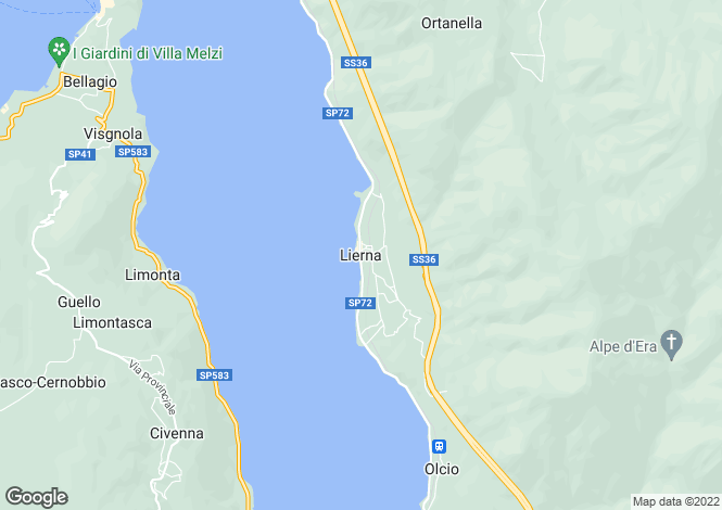 Map for Provincia Di Lecco, Lombardy, Italy