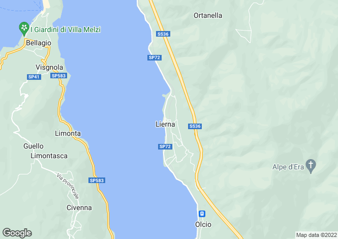Map for Mandello del Lario, Lecco, Lombardy