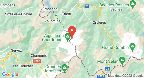 map of Grande Fourche (France)