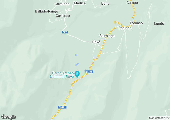 Map for Fiavè, Trento, Trentino-South Tyrol