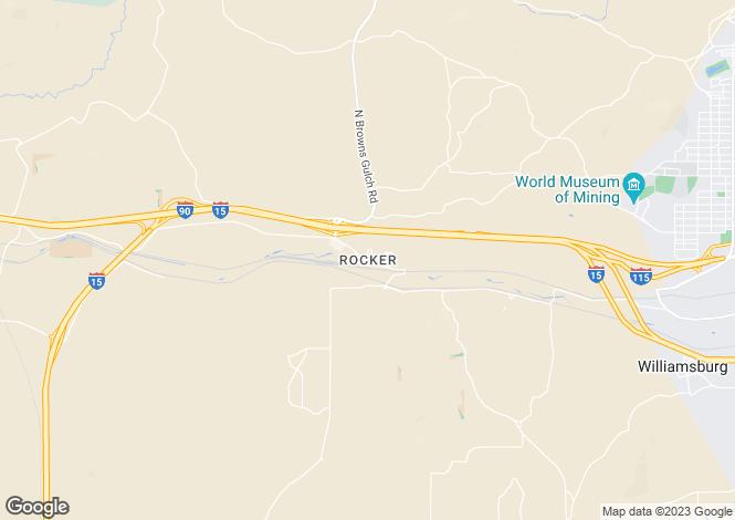 Map for USA - Montana