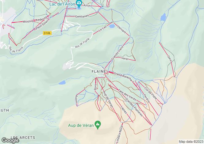 Map for Le Centaure, Flaine