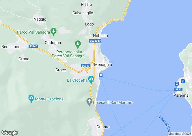 Map for Menaggio, 22017, Italy