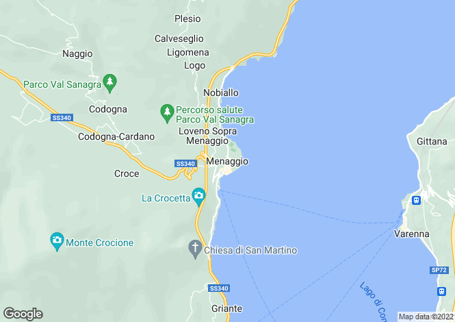 Map for Province Of Como, Lombardy, Italy