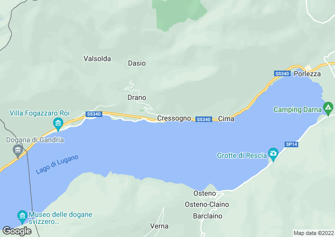 Map for Valsolda, Como, Italy