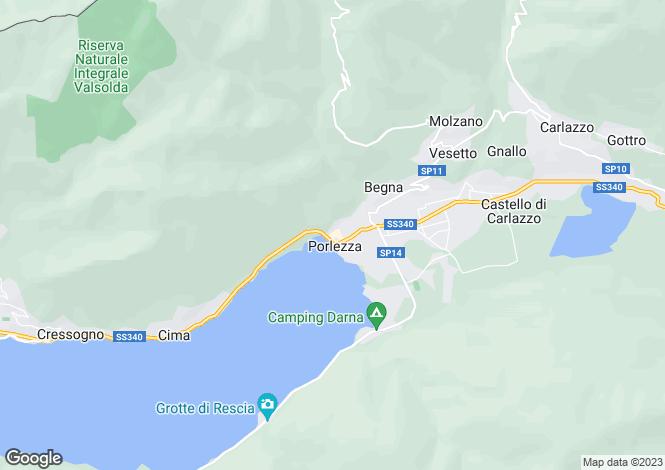 Map for Porlezza, 22018, Italy