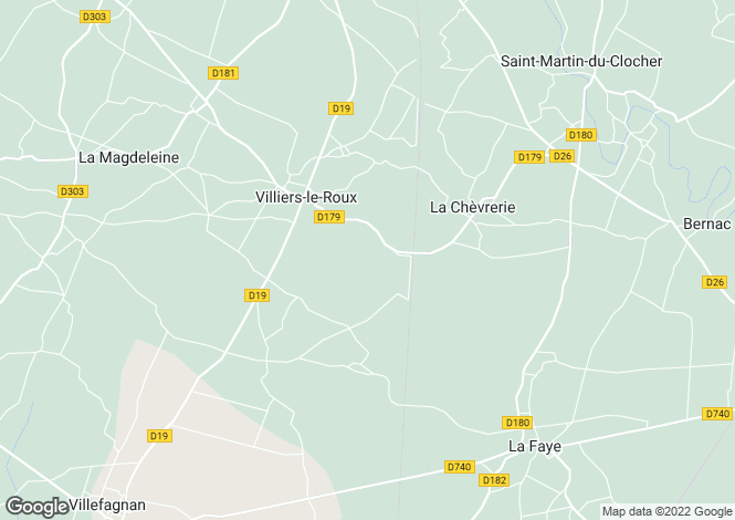 Map for Ruffec, Poitou-Charentes, 16240, France