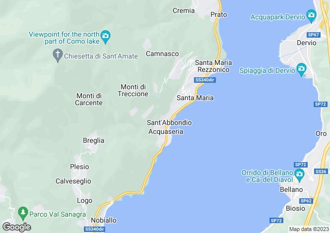 Map for San Siro, 22010, Italy