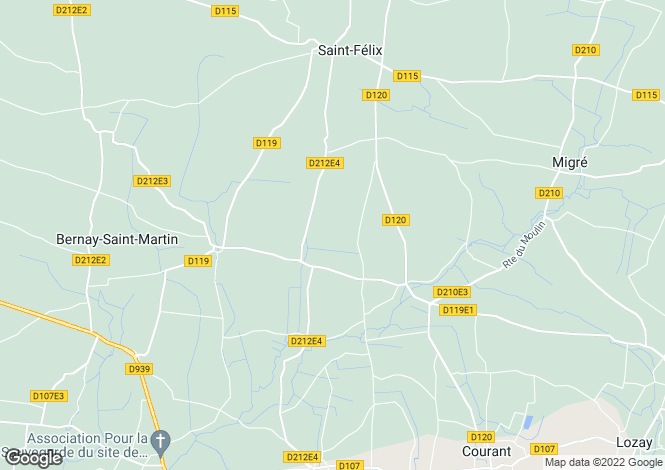 Map for st-martin-de-la-coudre, Charente-Maritime, France
