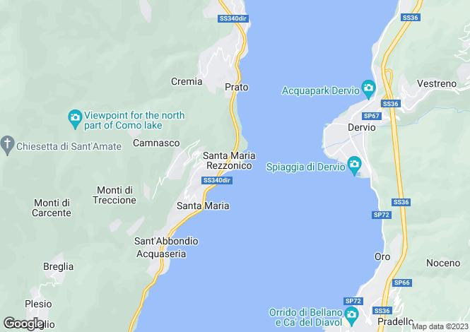 Map for San Siro, 22017, Italy