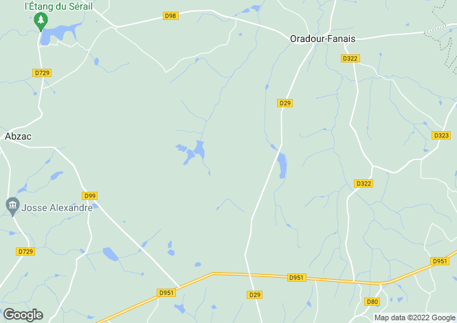 Map for Secteur: Confolens, Charente