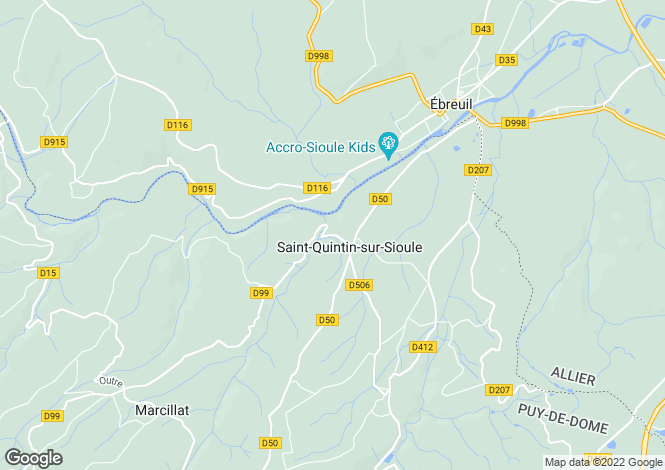 Map for st-quintin-sur-sioule, Puy-de-Dôme, France