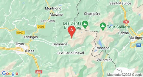 map of Gouffre Jean-Bernard (France)