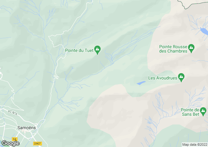 Map for Chalet, Samoens, France