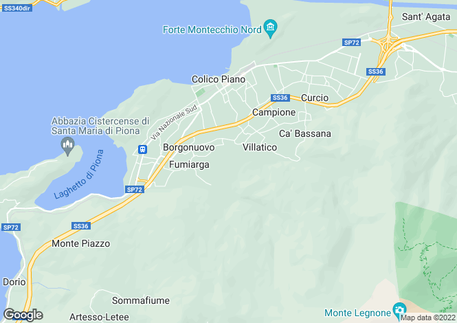Map for Colico, 23823, Italy