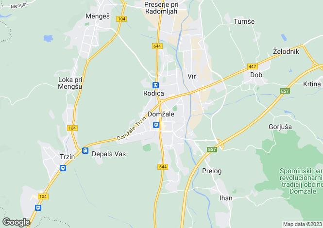 Map for Podgorica, Domzale, Domzale, Slovenia